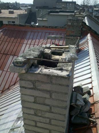 Oprava komínu